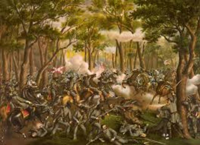 Battle of the wilderness Virginia