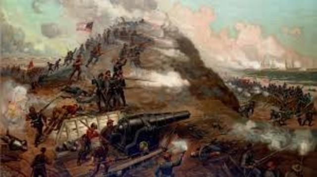 Assault and capture of Fort Fisher, North Carolina
