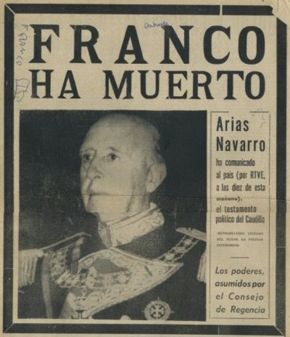 Muere Franco