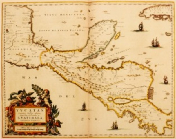 Cortes lands on the Mexican coast.