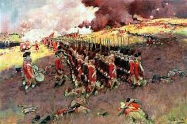 Battle of Bunker Hill or Breeds Hill