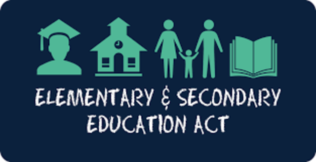 Elementary and Secondary Education Act (ESEA) of 1965 P.L. 89-101