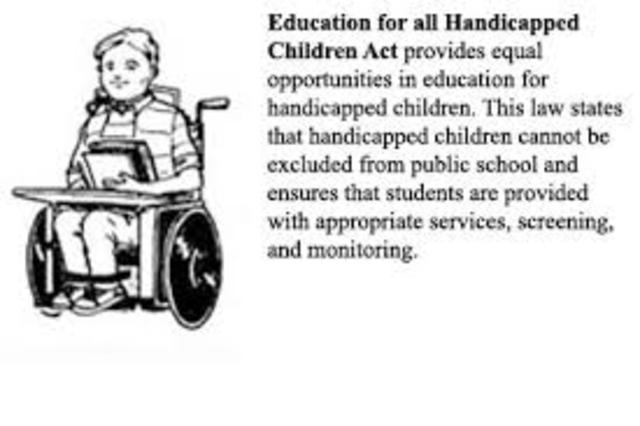 Education of the Handicapped Act