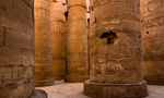 Karnak great temple of amun great hypostyle hall temple complex of karnak egy307  landscape
