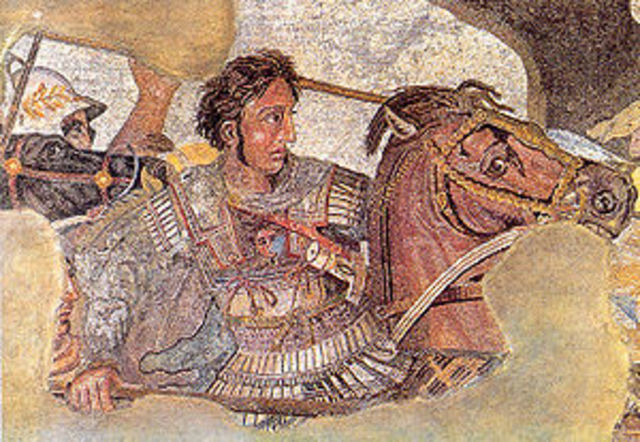 Alexander the Great was born
