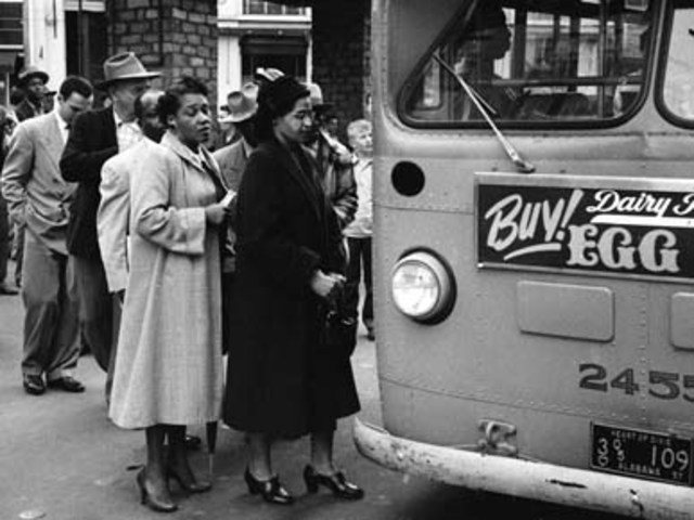 When the bus boycott began - Marin