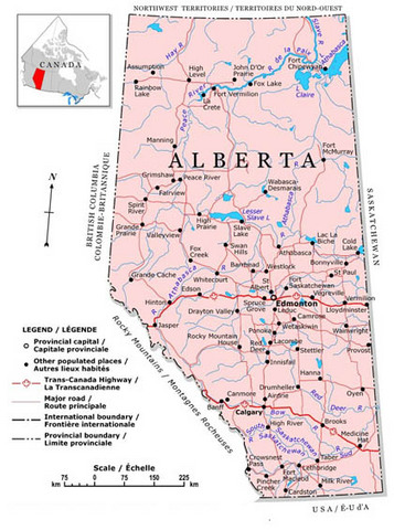 Alberta Becoming A Province