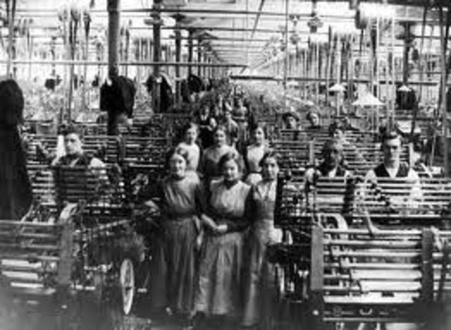 First intergrated cotton mill