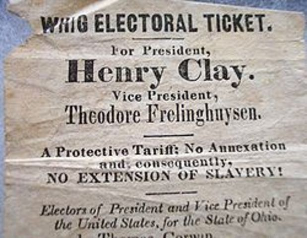 Whigs, Van Buren, and The election of 1839