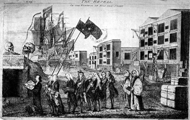 american revolution declaratory act of When news arrived in america in the spring of 1765 that the british  the stamp  act of march 1765 was a new tax imposed on all of  despite some misgivings,  parliament finally repealed the stamp act in march 1766, but it also passed the  declaratory act,  category: all about the revolution | tags:.
