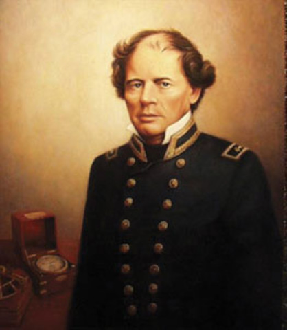 American naval officer and oceanographer Matthew Maury