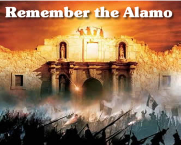 """Remember the Alamo"" call at the Battle of San Jacinto"