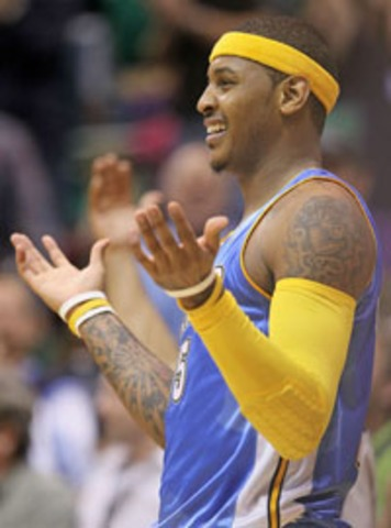 Velasco: What's Up, Carmelo Anthony?