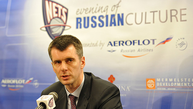 Mikhail Prokhorov Calls Off Trade Talks