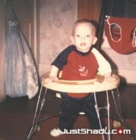 Eminem is born.