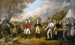 Surrender of general burgoyne 1  landscape
