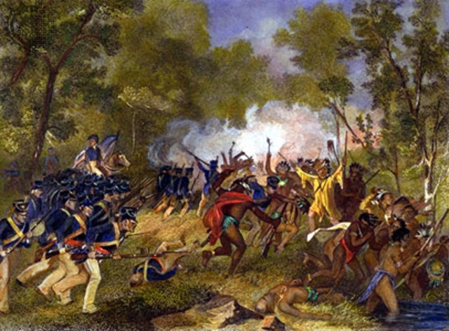 Tecumseh loses against U.S. troops (Political)