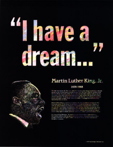 Holiday for Martin Luther King Jr. Birthday