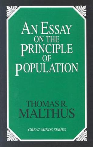 Thomas Malthus discussed human population growth and food production in An Essay on the Principle of Population.