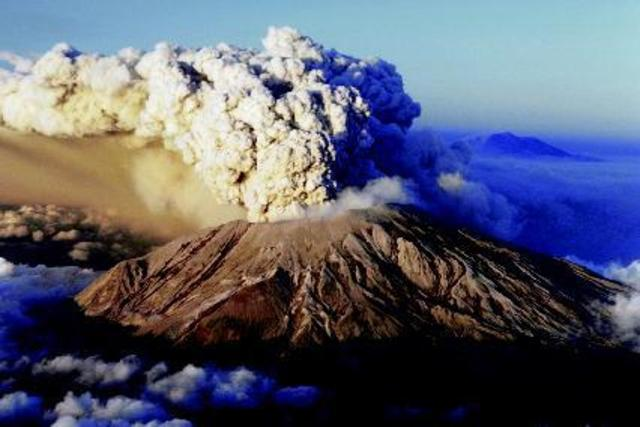 Mt. St. Helens Literally Explodes