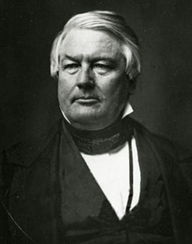 Millard Fillmore assumes the Presidency.