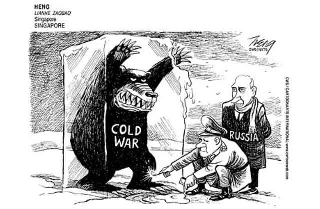 ussr blame cold war essay Keywords: cold war john lewis gaddis post-revisionism us ussr cold war historiography the happy, dialectal view of cold war historiography tells the story of academics rejecting fallacious extremes and moving towards a more reasonable synthesis1.