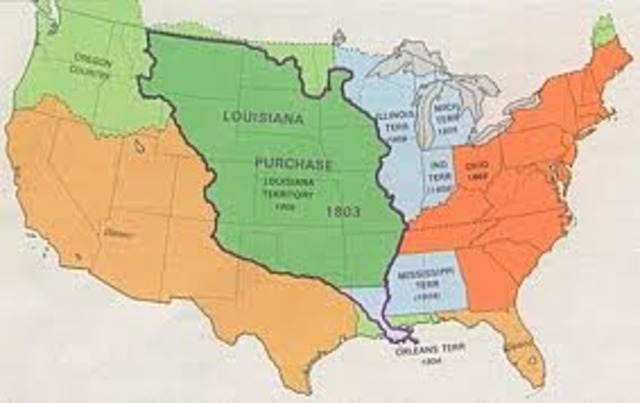 Louisiana Purchase Timeline  Timetoast Timelines