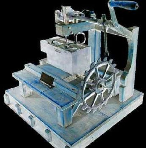 First sewing machine was patented by Thomas Saint