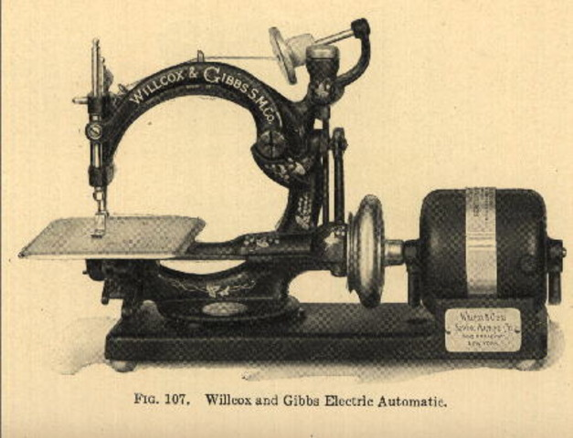 willcox gibbs sewing machine company