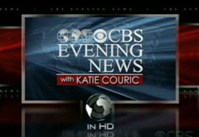 CBS Evening News is the first news televised broadcast