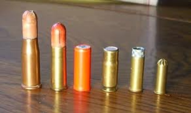 Full Rim-Fire Cartridge