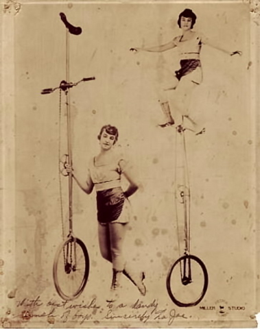 history of the unicycle by sean stevens timeline