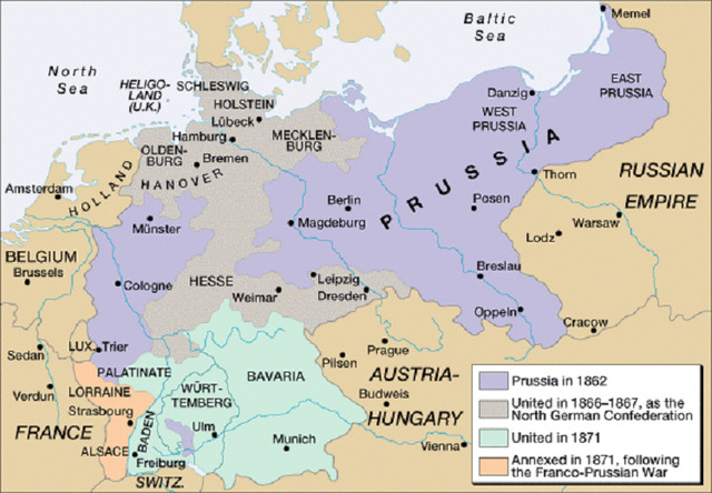 Unification of Germany Timeline The Unification of Germany