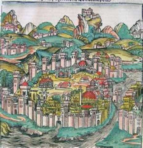Ottoman Capture of Constantinople