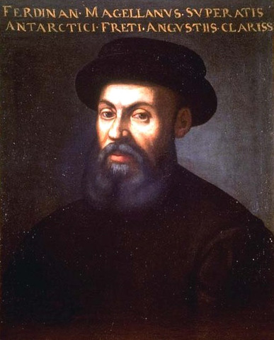 Magellan arrived at the Philippines