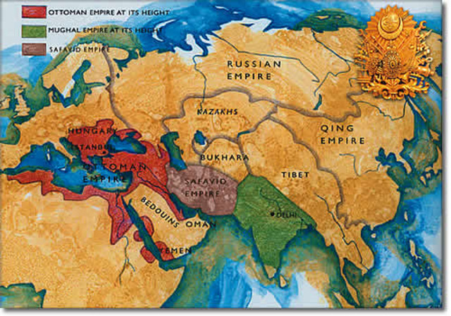Islamic Empires Timeline Timetoast Timelines
