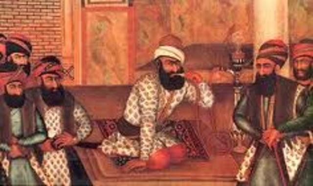 Offical Collpase of the Safavid Empire