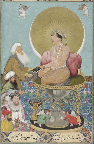 Jahangir is Successor to the Mughal Throne after Akbar