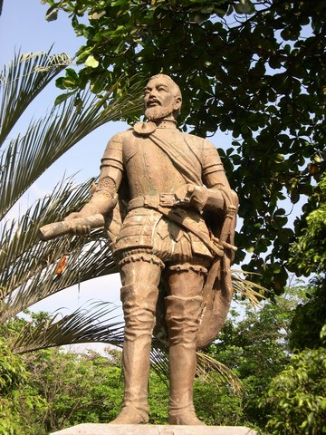 Miguel López de Legazpi arrived at the Visayas and founded the first settlement