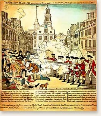 essay on events leading up to the boston massacre