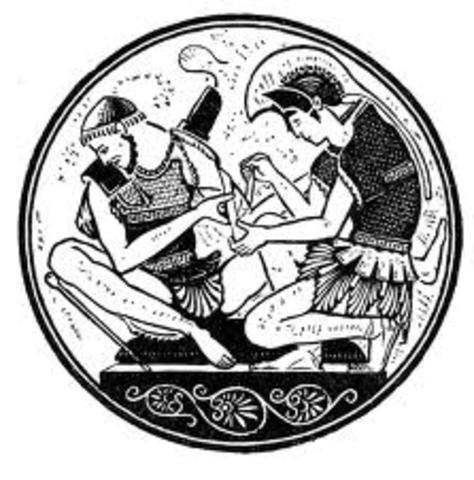 the quarrel of agamemnon and achilles He knows then that achilles will come for him in revenge , hector returns patroclus' body to the greeks and the fighting ceases for the day the quarrel of achilles and agamemnon and the death of patroclus.