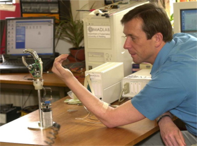 Kevin Warwick - Cyborg and Professor of Cybernetics