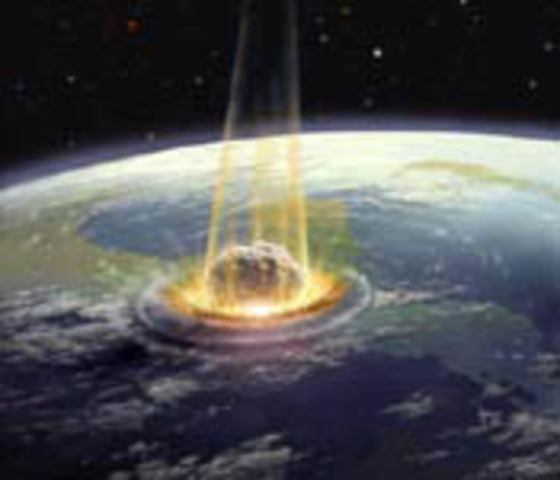 Second meteor impact