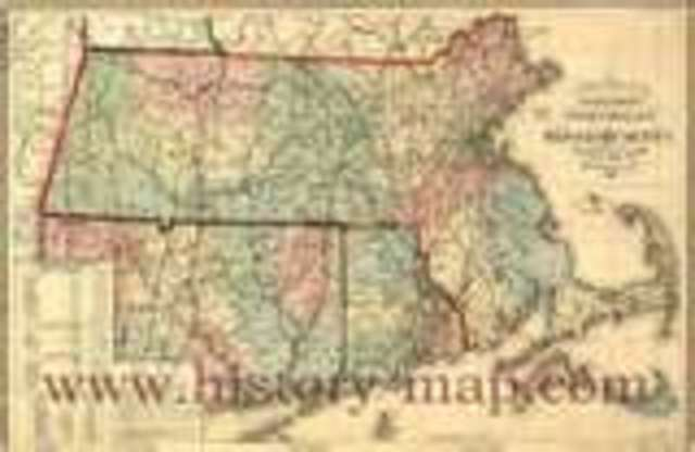 Massachusetts is founded