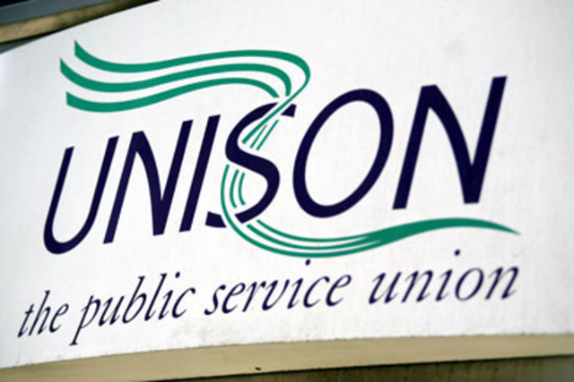Unison takes legal action