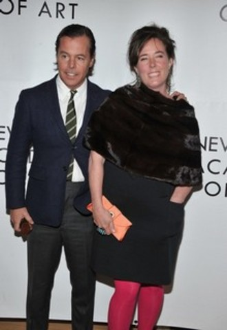 Kate Spade launches her handbags with Andy Spade.