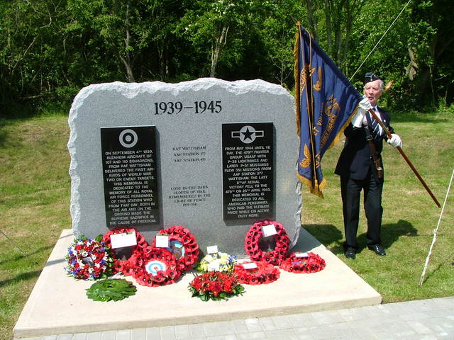 Wattisham Memorial unveiled