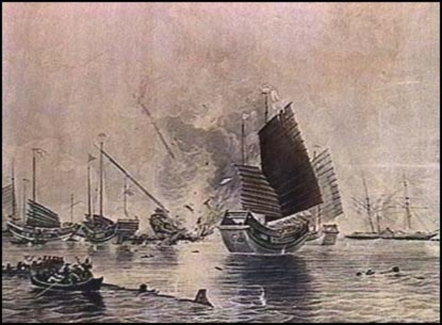 an overview of the first opium war of 1840 Opium war dates study play the british send expeditionary warships to the coast of china, beginning the first opium war 1839 overview the opium wars.