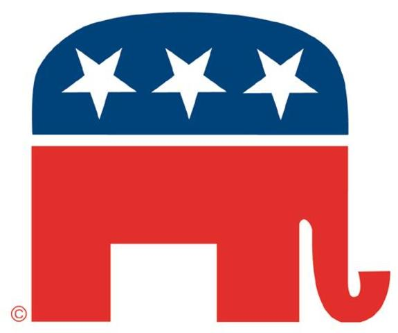 Conservative Republicans sweep the historic 1980 election.