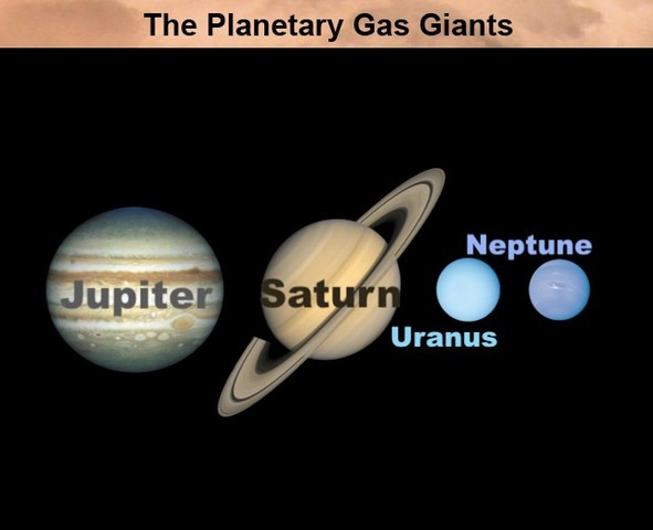 4.56 billion years ago Gas planets formed